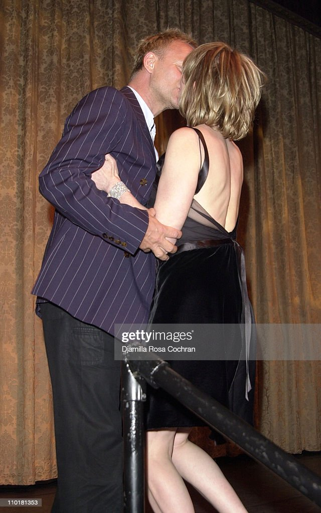 Sting and Trudie Styler during Tru(e) Gems Rainforest - Us Benefit Sponsored By Piaget To Honor Trudie Styler at Manhattan Center in New York, New York, United States.