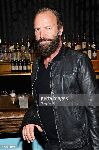 Sting attends the 60th annual Obie awards on May 18 2015 in New York City