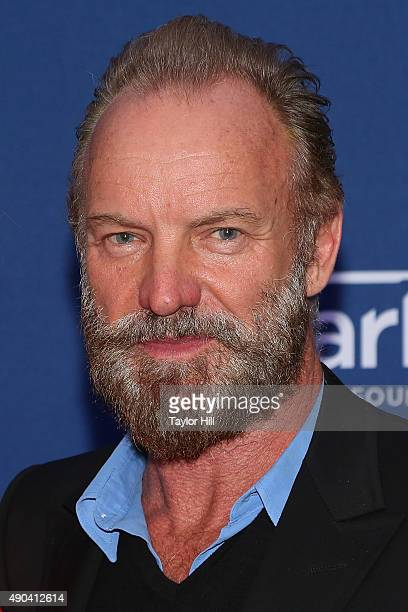 Sting attends the Clinton Global Initiative 2015 Global Citizen Awards at Sheraton Times Square on September 27 2015 in New York City