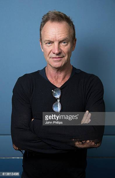 Sting during an Absolute Radio session at Absolute Radio on September 15 2016 in London England
