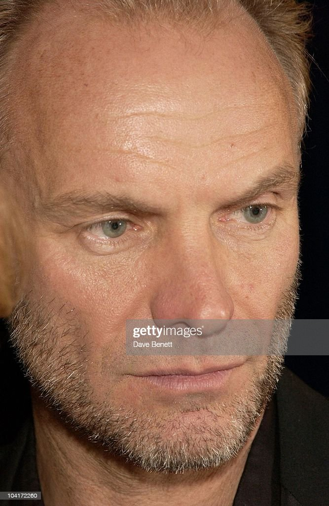 Sting, 'Master And Commander: The Far Side Of The World' Royal Premiere After Party At Billingsgate Fish Market, London