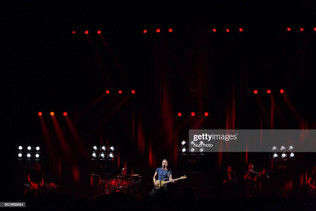 Sting Performs at MGM National Harbor