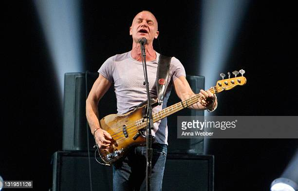 Sting performs at the Roseland Ballroom on November 8 2011 in New York City