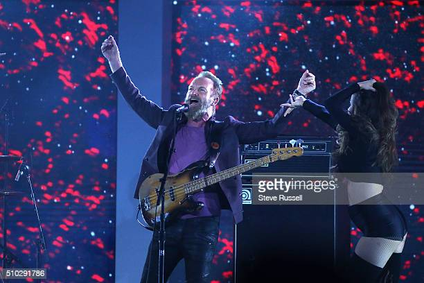 Sting performs during the 65th NBA AllStar Game at the Air Canada Centre in Toronto February 14 2016