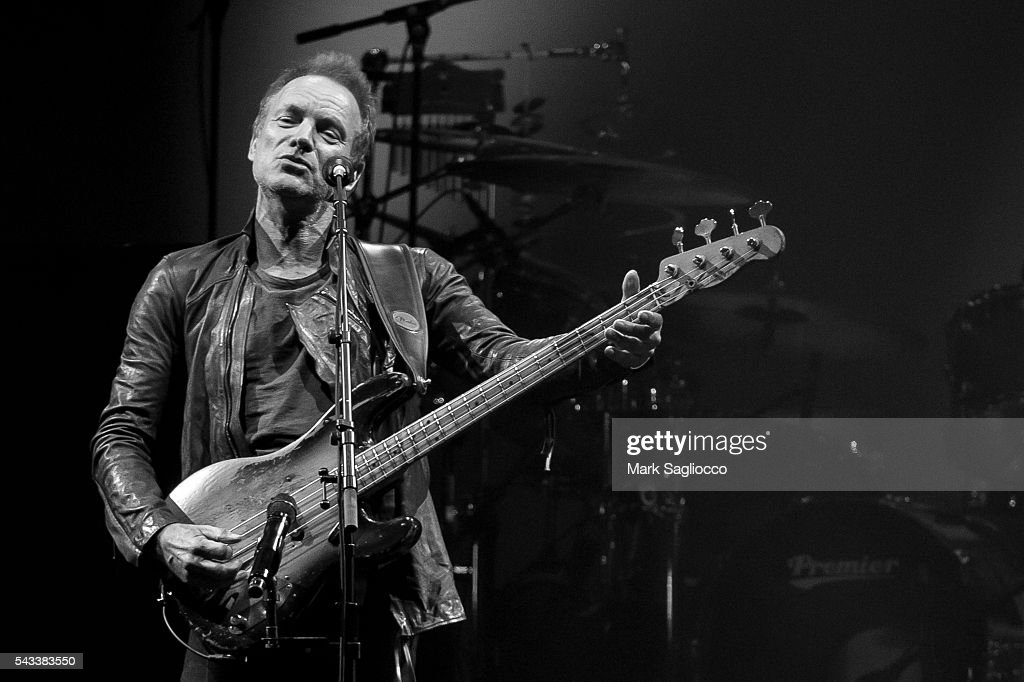 <a gi-track='captionPersonalityLinkClicked' href=/galleries/search?phrase=Sting+-+Singer&family=editorial&specificpeople=220192 ng-click='$event.stopPropagation()'>Sting</a> performs on stage during the 'Rock, Paper, Scissors' North American Tour at Madison Square Garden on June 27, 2016 in New York City.