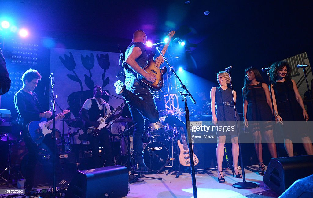 Sting performs onstage at Apollo in the Hamptons at The Creeks on August 16, 2014 in East Hampton, New York.