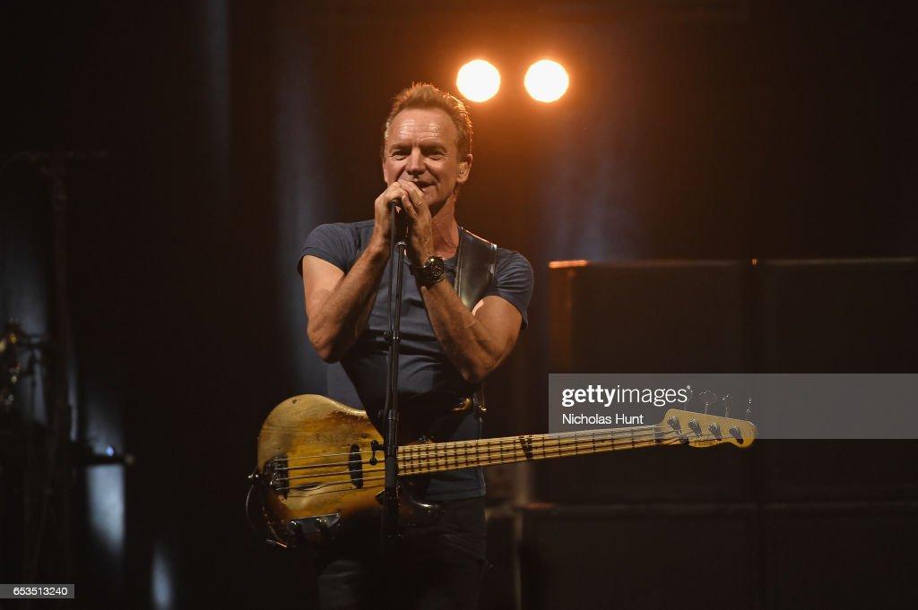 "Sting ""57th & 9th"" World Tour - New York"