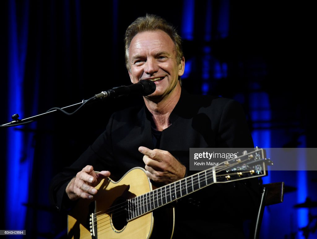 Sting performs onstage to kick off Citi Sound Vault, a new live music platform curated exclusively for Citi cardmembers, at Hollywood Palladium on February 8, 2017 in Los Angeles, California.