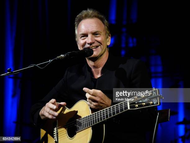 Sting performs onstage to kick off Citi Sound Vault a new live music platform curated exclusively for Citi cardmembers at Hollywood Palladium on...