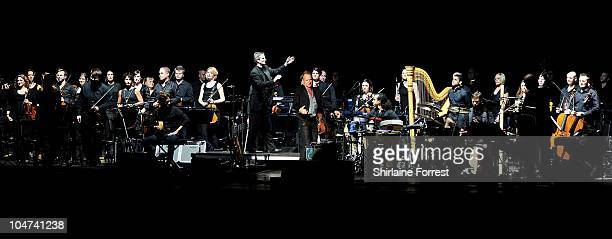 Sting performs with The Royal Philharmonic Concert Orchestra at Manchester Apollo on October 4 2010 in Manchester England