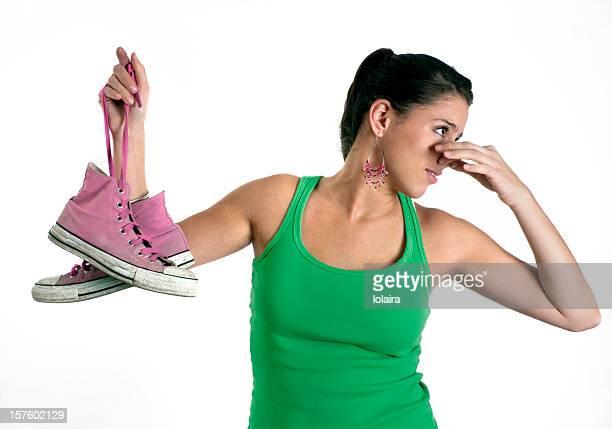 Stinkender Schuh