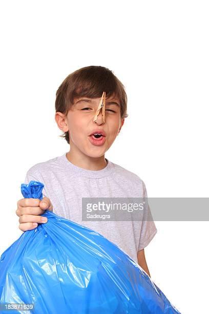 Stinkendem Müll