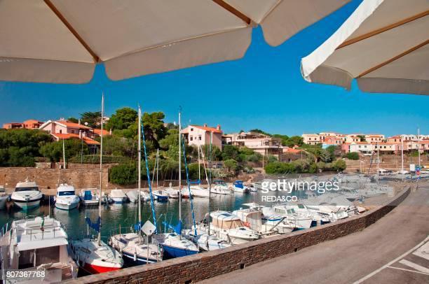 Stintino touristic harbour Sassari Sardinia Italy Europe