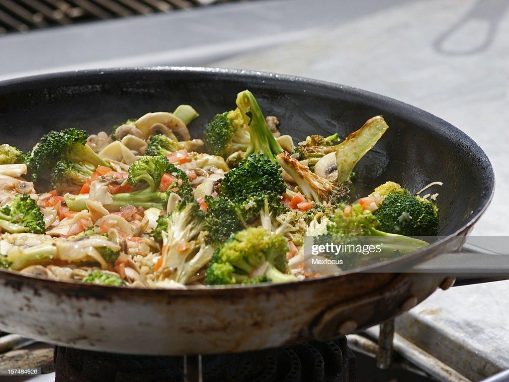Stir Fry : Stock Photo