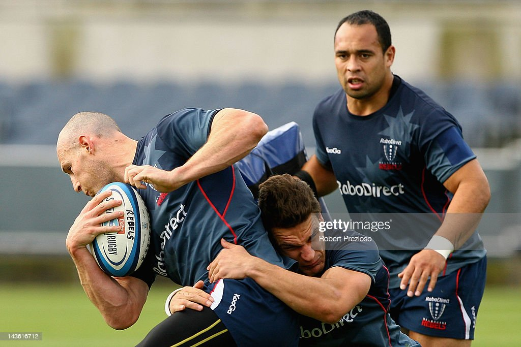 Melbourne Rebels Training Session