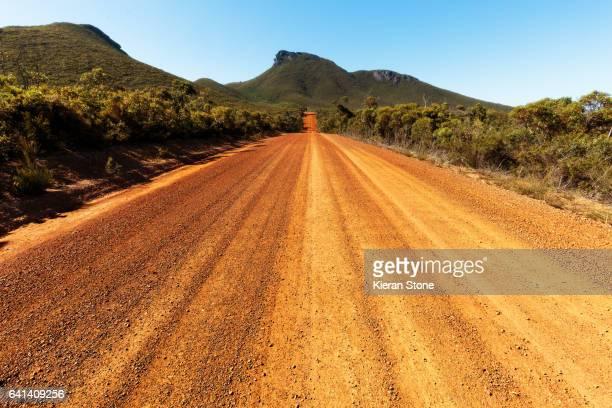 Stirling Ranges National Park road