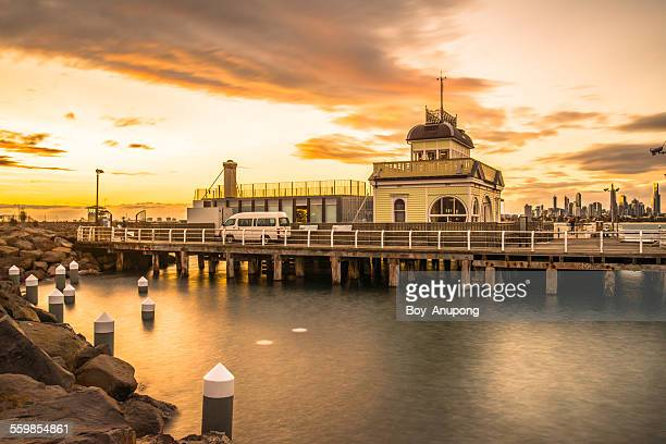 St.Kilda Pier in the evening time