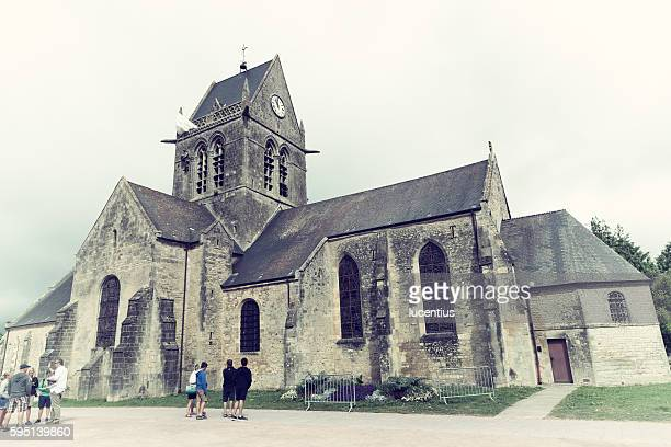 St.Mere Eglise church, Normandy, France