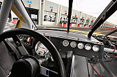 Stock car cockpit