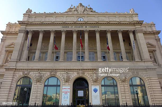 Stock Exchange building, Marseille, France