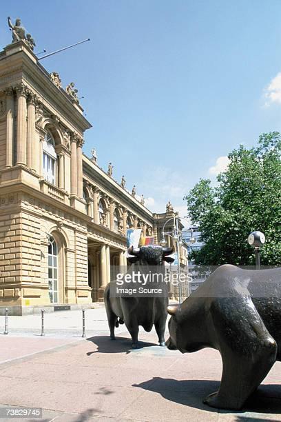 Stock Exchange, Frankfurt, Germany