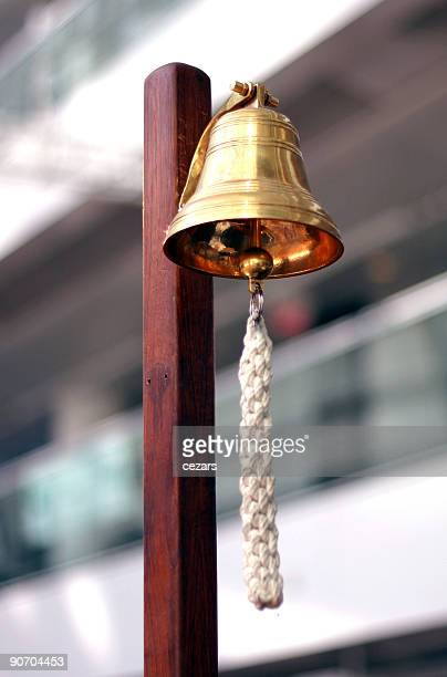 stock exchange golden bell