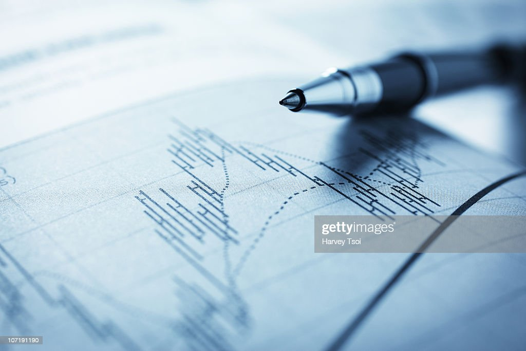 Stock Market Analyze : Stock Photo