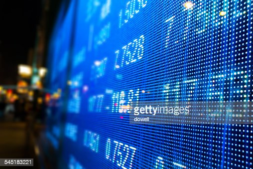 LED stock market display screen