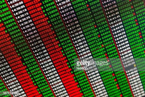 Stock Market : Stock Photo