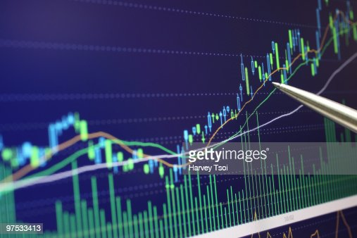Stock Market Research : Stock Photo
