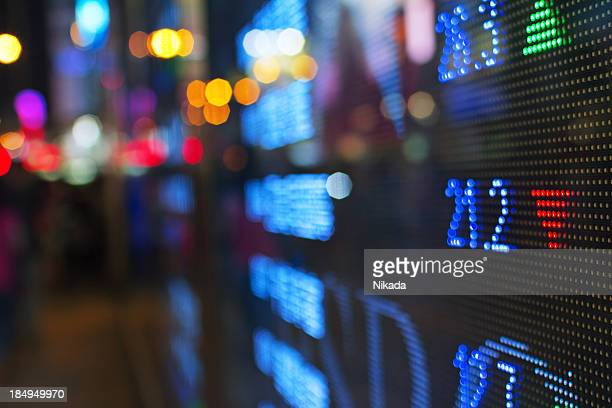 "Stock market ""in blur Effekt"