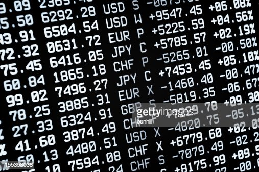 Currency stock market