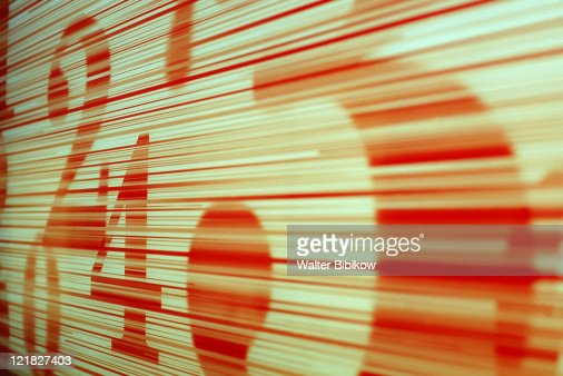 Stock markets numbers, Japan : Stock Photo