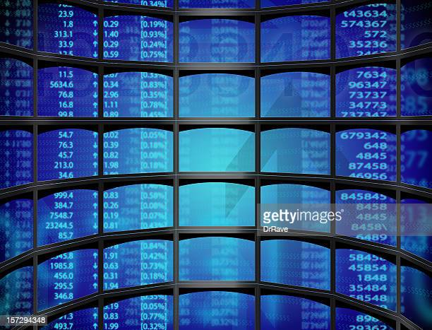 Stock sur plusieurs écrans
