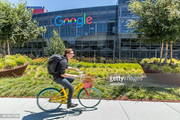 Stock Photo of Google Headquarters in Mountain View