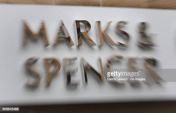 Stock photograph of a Marks and Spencer shop on Great George Street in Glasgow