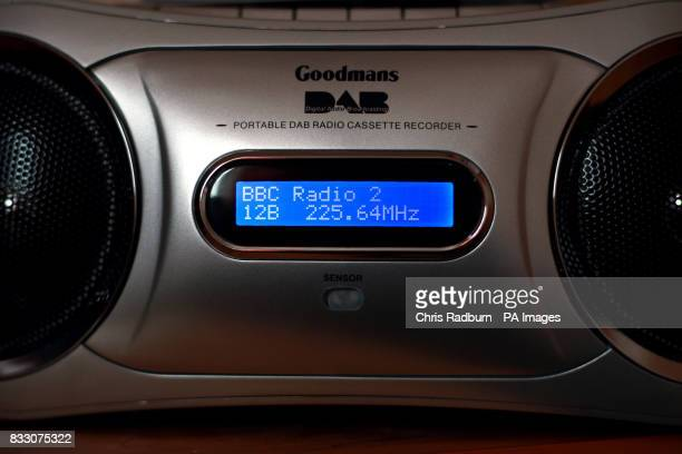 Stock Picture shows an DAB Radio Cassette and CD Player