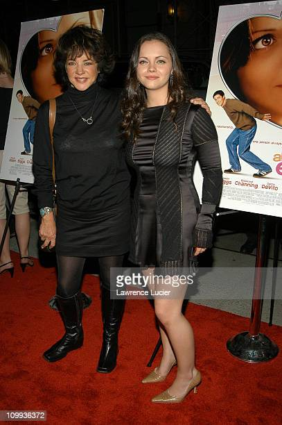 Stockard Channing and Christina Ricci in a dress by Chanel