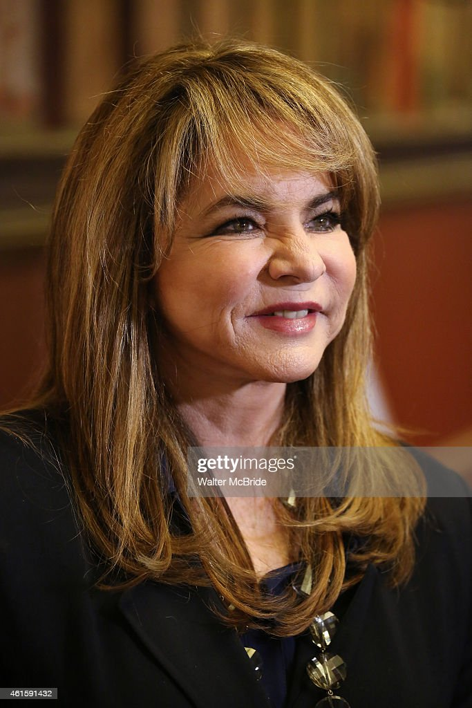 Stockard Channing attend the media day for the new cast of the Broadway hit 'It's Only A Play' at Sardi's Restaurant on January 13, 2015 in New York City.