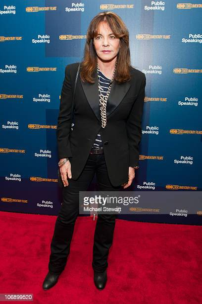 Stockard Channing attends the 'Public Speaking' premiere at the Museum of Modern Art on November 15 2010 in New York City