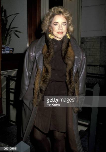 Stockard Channing during Benefit for amfAR at Il Cantinori Restaurant in New York City New York United States