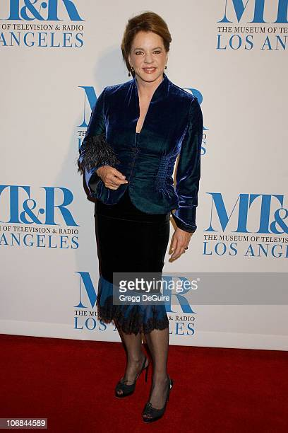 Stockard Channing during The Museum of Television Radio Honors Peter Chernin and John Wells at its Annual Los Angeles Gala Arrivals at Beverly Hilton...