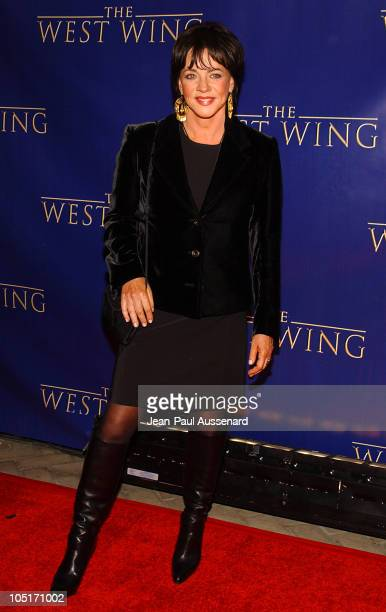 Stockard Channing during 'The West Wing' 100th Episode Celebration at Four Seasons Hotel in Los Angeles California United States