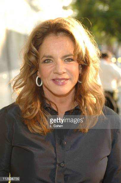 Stockard Channing of 'Out of Practice' during CBS 2005 TCA Party Red Carpet at Hammer Museum in Los Angeles California United States