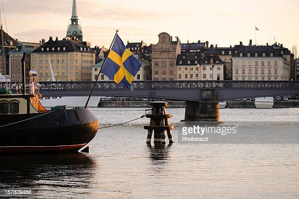 El centro de la ciudad de Estocolmo