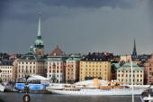 Stockholm is seen prior to the wedding of Crown Princess Victoria of Sweden and Daniel Westling on June 18 2010 in Stockholm Sweden