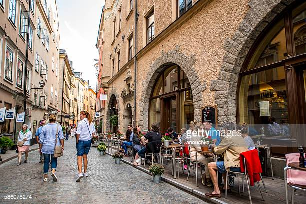 Stockholm old town Gamla stan, Sweden