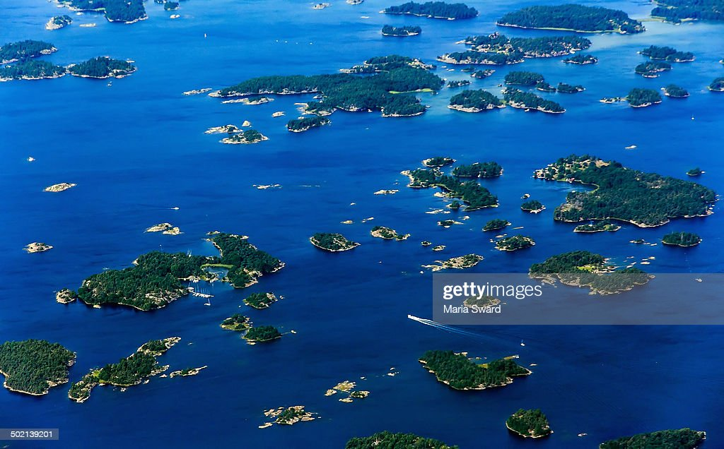 Stockholm/Nyköping archipelago aerial