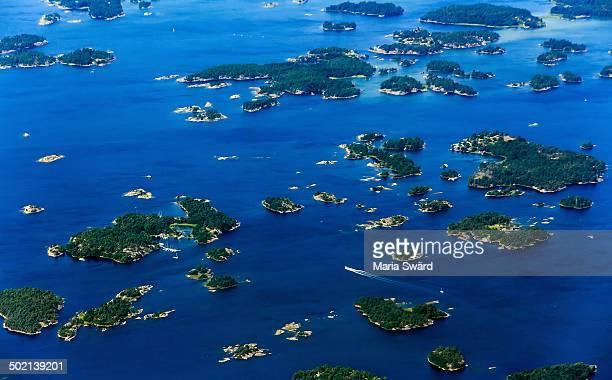 Stockholm/Nyk?ping archipelago aerial