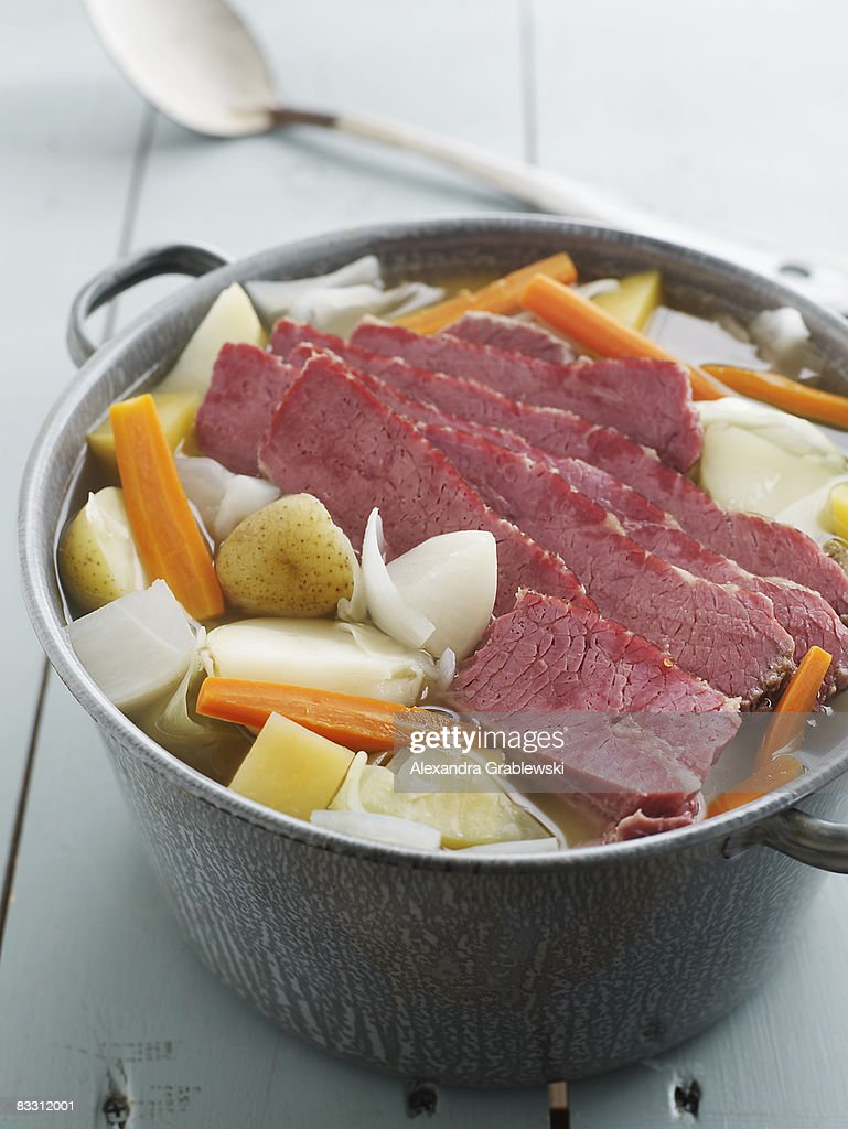 Stockpot of New England Boil : Stockfoto